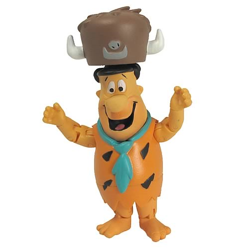 Hanna-Barbera Fred Flintstone 3-Inch Action Figure