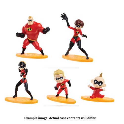 The Incredibles Mini-Figure Case