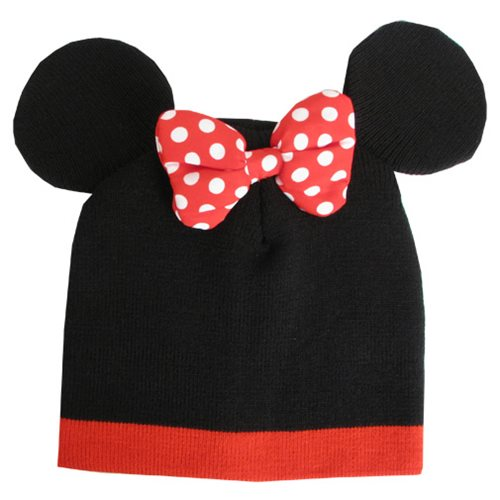 00213b8a4db Disney Minnie Mouse Beanie Hat - Entertainment Earth