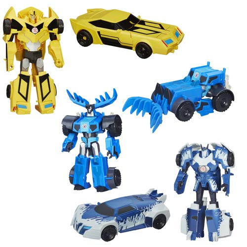 Transformers Robots in Disguise Hyper Change Heroes Wave 6