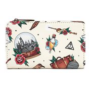 Harry Potter Tattoo Flap Wallet