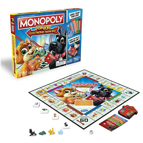 Monopoly Junior Electronic Banking Game