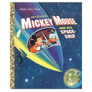 Disney Mickey Mouse and His Spaceship Little Golden Book