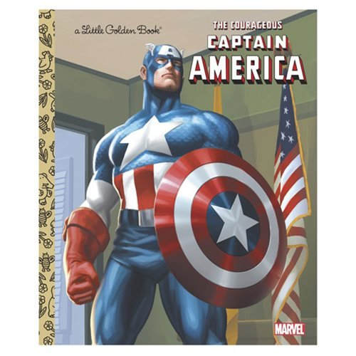 Marvel The Courageous Captain America Little Golden Book