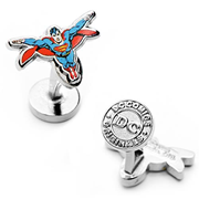 Superman Flying Cufflinks