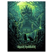 Iron Maiden Shadows of the Valley by Dan Mumford Silk Screen Art Print