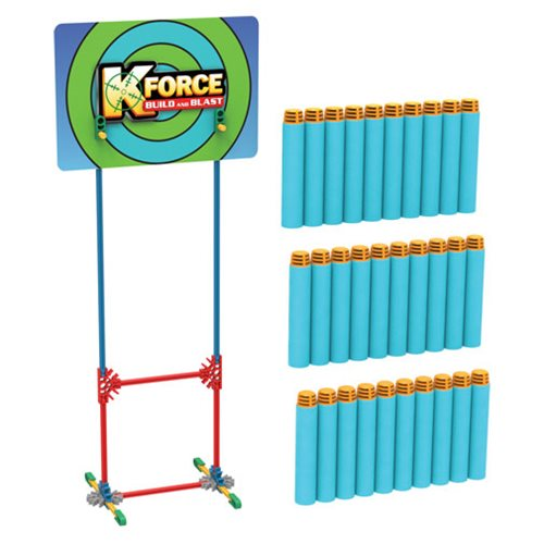 K'NEX K-Force 30 Dart Pack and Target Accessory Pack