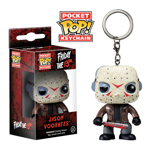 Friday the 13th Jason Voorhees Pop! Vinyl Figure Key Chain