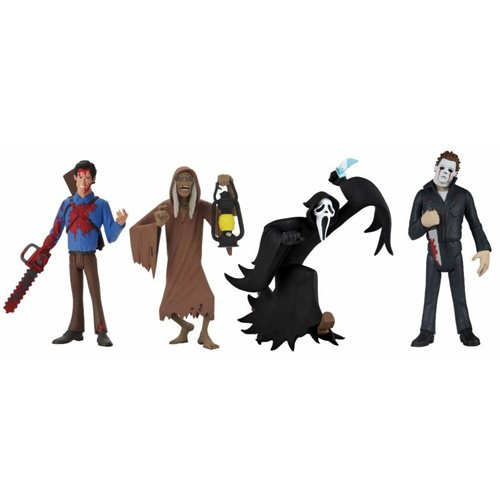 Toony Terrors Series 5 6-Inch Scale Action Figure Set