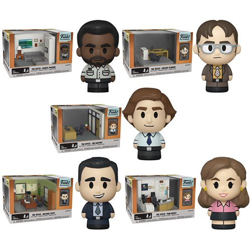 The Office Mini Moments Mini-Figure Diorama Playset Case