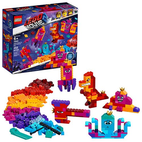 LEGO 70825 The LEGO Movie 2: The Second Part Queen Watevra's Build Whatever Box!