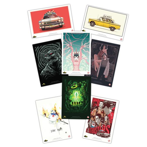 Ghostbusters Lithographic Print Set 8-Pack