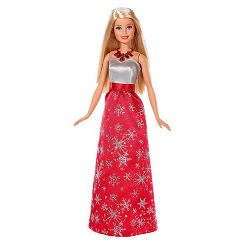 Barbie Blonde Holiday Doll