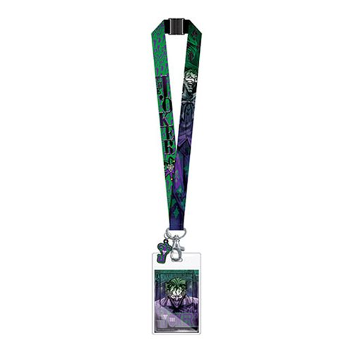 Batman Joker Lanyard