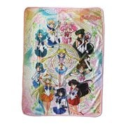 Sailor Moon Sailor Moon Group Sublimation Throw Blanket