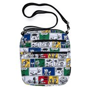 Peanuts 70th Anniversary Comic Strip Nylon Passport Purse