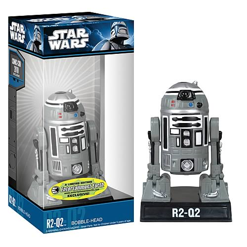 Star Wars R2-Q2 Droid Bobble Head - EE Exclusive