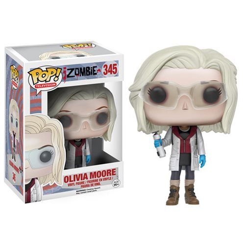 iZombie Olivia Moore with Glasses Pop! Vinyl Figure, Not Mint