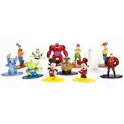 Disney Nano Metalfigs Die-Cast Metal Mini Figures Case