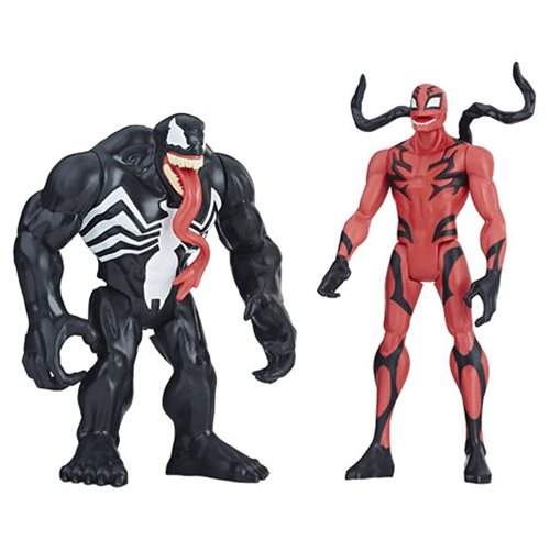 Marvel Venom Carnage Figure Action Figure 2 Pack Entertainment Earth