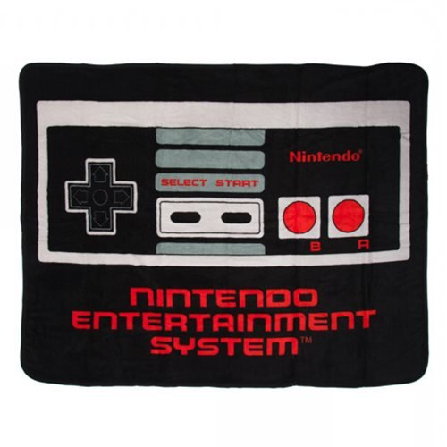 Nintendo Controller Throw Blanket