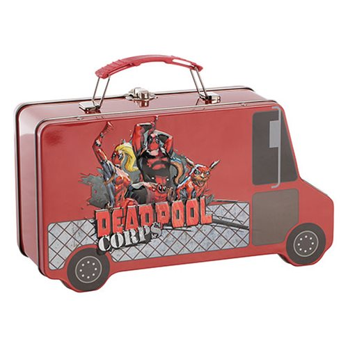 Deadpool Truck Shaped Tin Tote