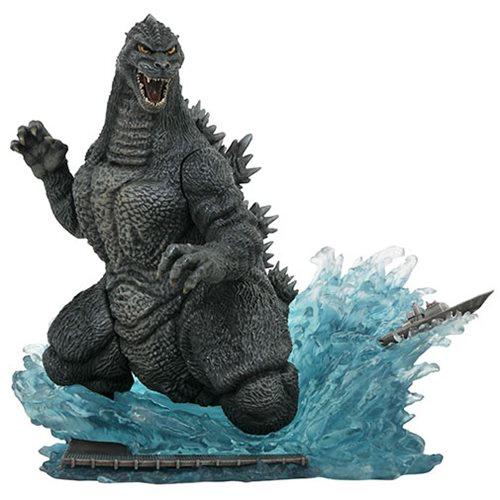 Картинки по запросу Godzilla PVC Gallery Statues - Deluxe 1991 Godzilla