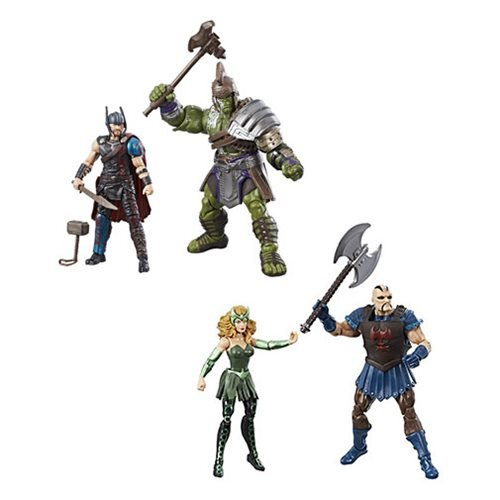 Thor 3 3/4-Inch Marvel Legends Figures Action Figure 2-Packs Set