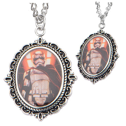 Star Wars: Episode VII - The Force Awakens Captain Phasma Stainless Steel Pendant Necklace
