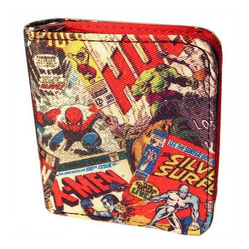 Marvel Retro Collection Cover Wallet