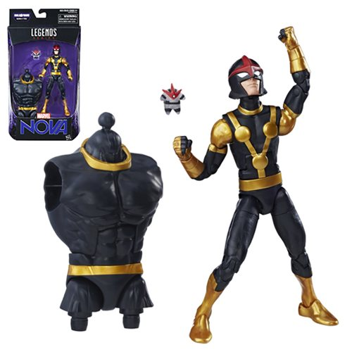 Guardians of the Galaxy Marvel Legends 6-Inch Nova Action Figure