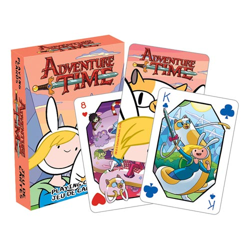Adventure Time Fionna and Cake Playing Cards