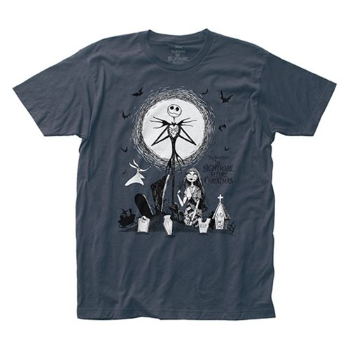Nightmare Before Christmas Graveyard T-Shirt
