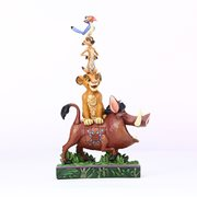 Disney Traditions Lion King Stacked Charaters Balance of Nature by Jim Shore Statue