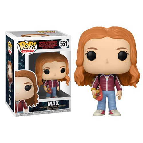 Stranger Things Max with Skateboard Pop! Vinyl Figure #551