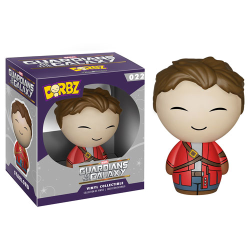 Guardians of the Galaxy Star-Lord Unmasked Dorbz Vinyl Figure