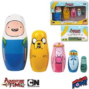 Adventure Time Wood Nesting Dolls Set of 5, Not Mint