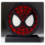 Spider-Man Logo Bookends Statue