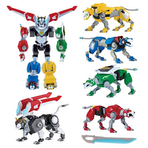 Voltron Legendary Defender Die-Cast Lion Figure Case