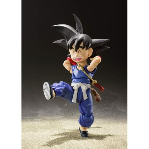 Dragon Ball Kid Goku SH Figuarts Action Figure - SDCC 2019 Exclusive