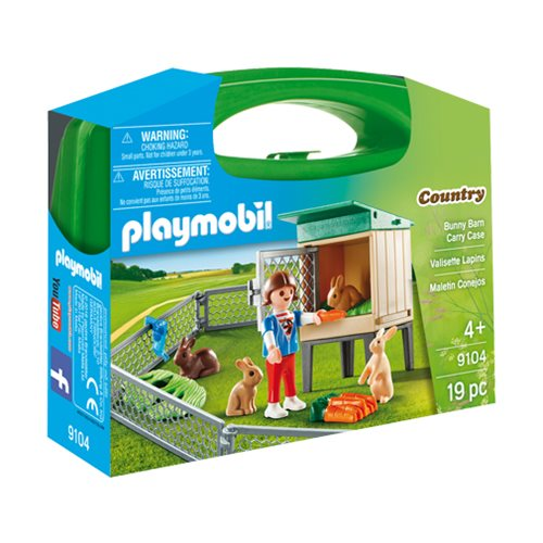 Playmobil 9104 Bunny Barn Carry Case