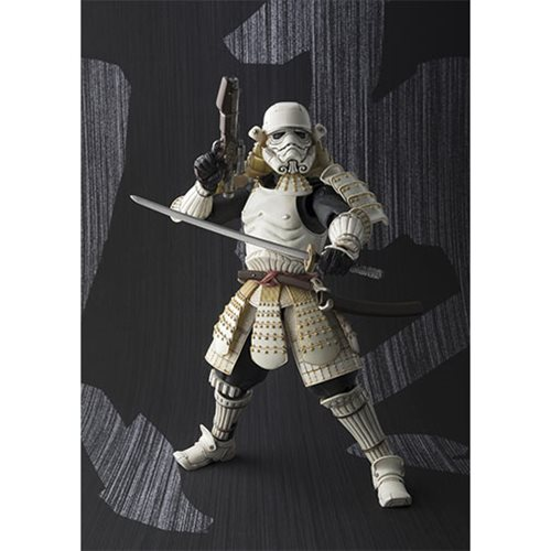 Star Wars Ashigaru Stormtrooper Meisho Movie Realization Action Figure