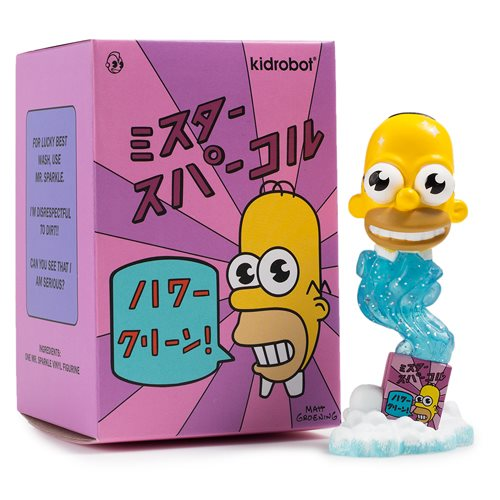 The Simpsons Mr. Sparkle 3-Inch Mini-Figure