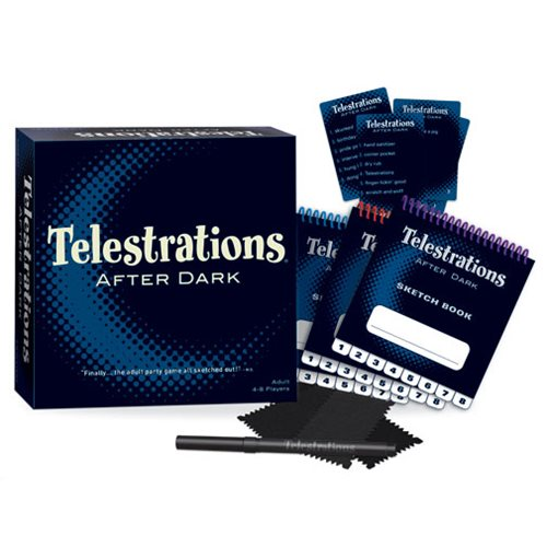 Telestrations 8-Player After Dark Adult Party Game