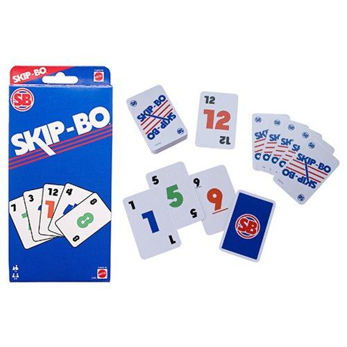 Skip Bo Retro Card Game Entertainment Earth
