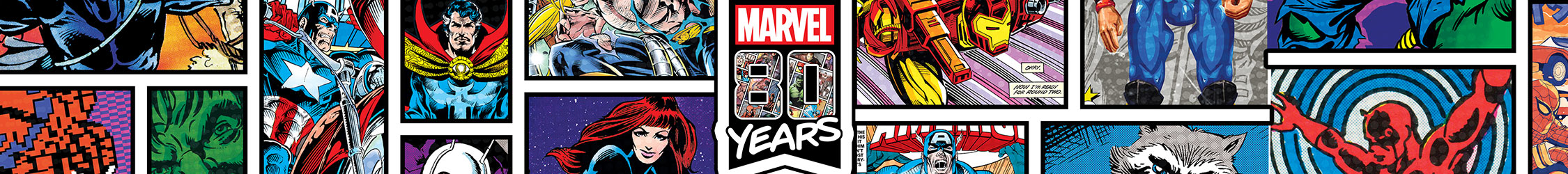 Marvel Shop 80th Anniversary