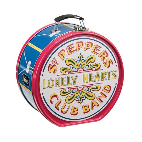 The Beatles Sgt. Pepper's Lonely Hearts Club Band Shaped Tin Tote