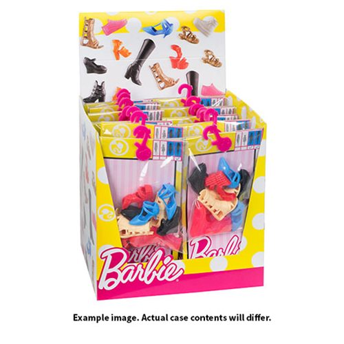 Barbie Fashion Shoe Pack Case