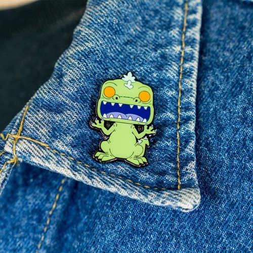 Rugrats Reptar Glow-in-the-Dark Pop! Pin - Entertainment Earth Exclusive