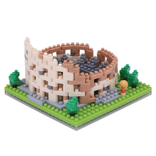 Colosseum Nanoblock Constructible Figure